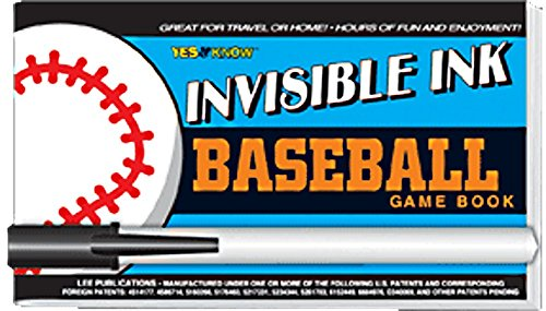 9781562971588: BASEBALL GAME BOOK INVISIBLE INK C/PLUMON
