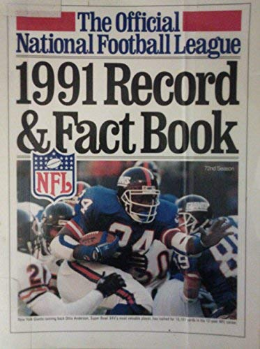 9781563050732: Official 1991 National Football League Record and Fact Book (Official National Football League Record and Fact Book)