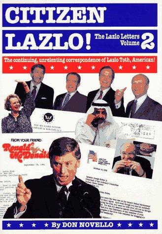 9781563051821: Citizen Lazlo!: The Lazlo Letters, Volume 2