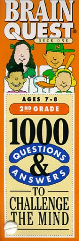 9781563052590: Brain Quest: 1000 Questions & Answers to Challenge the Mind/2nd Grade/Ages 7-8/Deck 1 & 2
