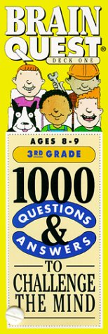 9781563052606: Brain Quest: 1000 Questions & Answers to Challenge the Mind/3rd Grade/Ages 8-9/Deck 1 & 2