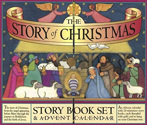 9781563055478: The Story of Christmas Story Book Set & Advent Calendar