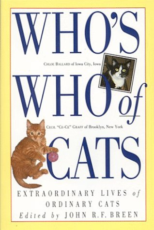 9781563056291: Who's Who of Cats