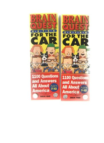 9781563056307: Brain Quest Extra: For the Car (Ages 7-12)