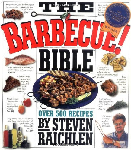 9781563058660: The Barbecue! Bible: Over 500 Recipes
