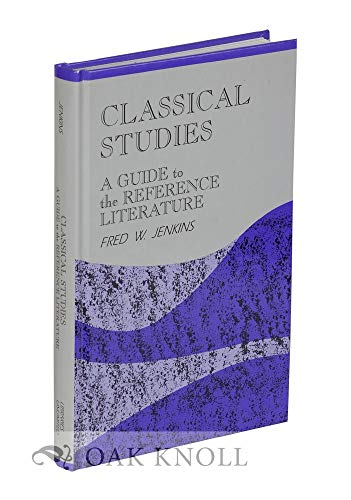 9781563081101: Classical Studies (Reference Sources in the Humanities Series)