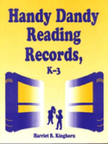 Handy Dandy Reading Records: K-3 (Cut 'N: Harriet R. Kinghorn