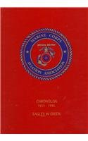 MARINE CORPS AVIATION CHRONOLOG 1955 - 1996 - EAGLES IN GREEN: Mersky, Peter - author - Cloud, Amy ...