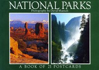 9781563137525: National Parks: A Book of 21 Postcards