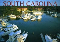 South Carolina Postcard Book