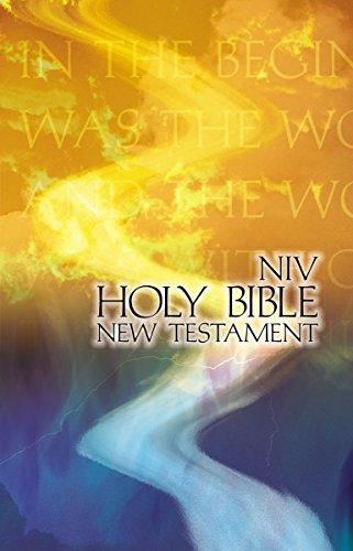 NIV, Outreach New Testament, Paperback, Orange/Blue: Biblica