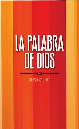 9781563205170: Reina Valera Spanish Outreach Bible - Orange Stripes: La Palabra de Dios (Spanish Edition)