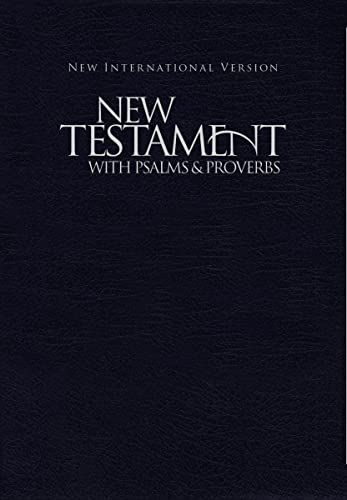 9781563206627: NIV, New Testament with Psalms and Proverbs, Pocket-Sized, Paperback, Blue