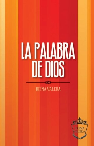 9781563207365: Reina Valera Outreach Bible - Orange Stripes: La Palabra de Dios (Spanish Edition)