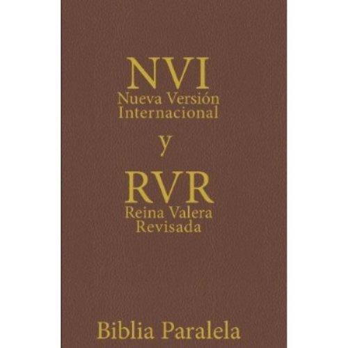 9781563207648: Spanish RV / NVI Parallel Bible - Brown Leatherlike: Reina Valera / Nueva Version Internacional (Spanish Edition)