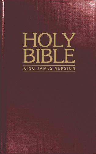 9781563208492: KJV Pew Bible: Burgundy