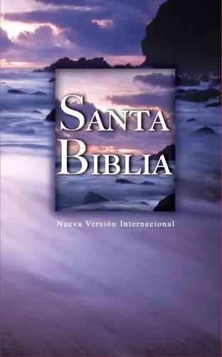 9781563209000: NVI Spanish Pew Bible - Beach Scene (Spanish Edition)