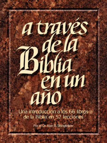 9781563220616: A Traves de La Biblia En Un Ano