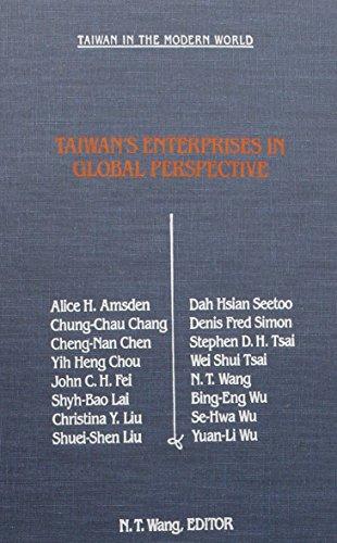 9781563240713: Taiwan Enterprises in Global Perspective (STUDIES OF THE EAST ASIAN INSTITUTE)