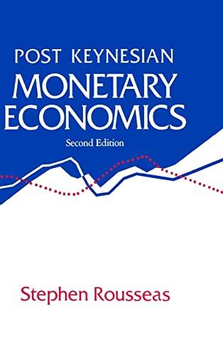 Post Keynesian Monetary Economics (Legal & Constitutional History): Rousseas
