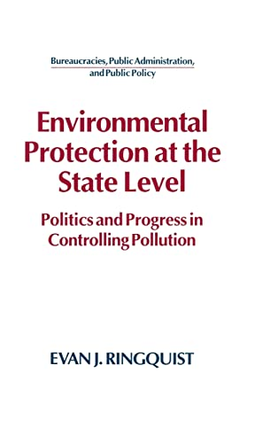 9781563242038: Environmental Protection at the State Level: Politics and Progress in Controlling Pollution (Bureaucracies, Public Administration, and Public Policy)