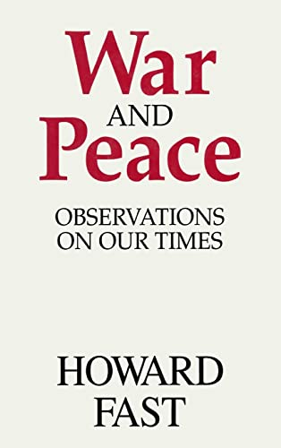 9781563242076: War and Peace: Observations on Our Times
