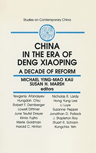 9781563242779: China in the Era of Deng Xiaoping: A Decade of Reform (Studies on Contemporary China)