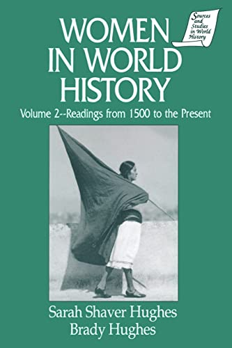 9781563243134: Women in World History: v. 2: Readings from 1500 to the Present (Sources and Studies in World History)