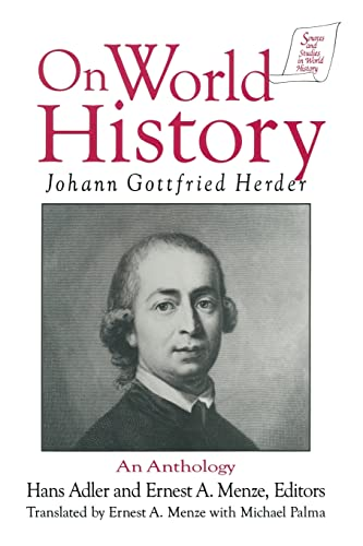 9781563245411: Johann Gottfried Herder on World History: An Anthology (Sources and Studies in World History)