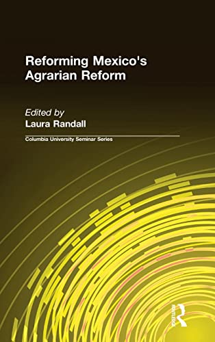 9781563246432: Reforming Mexico's Agrarian Reform (Socialism and Social Movements)