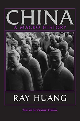 9781563247316: China: A Macro History (An East Gate Book)