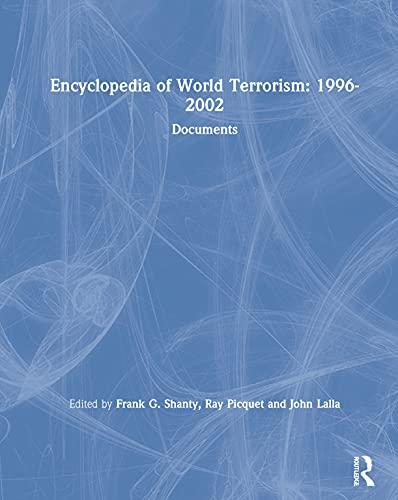 9781563248078: Encyclopedia of World Terrorism