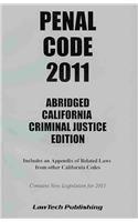 9781563251733: 2011 Penal Code Abridged CA