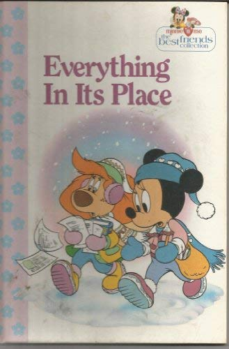 9781563261220: Everything in its place (Minnie 'n me, the best friends collection)