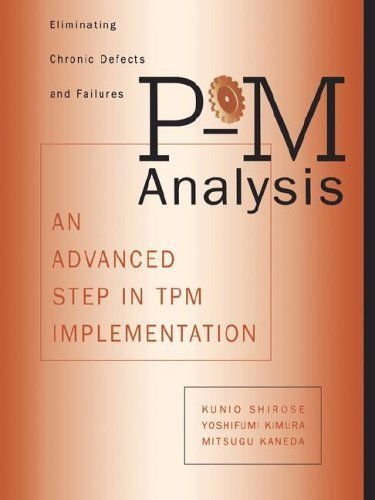 9781563270352: P-M Analysis (c): An Advanced Step in TPM Implementation (Time-Tested Equipment Management Titles!)