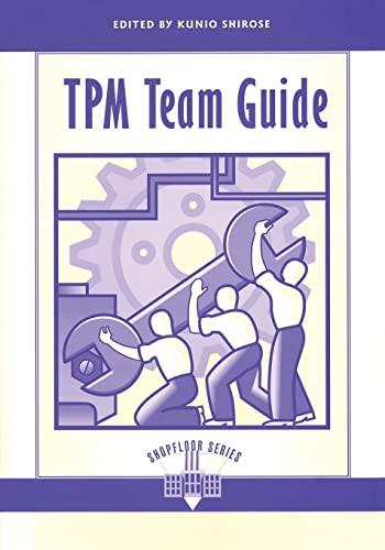 TPM Team Guide: Kunio Shirose