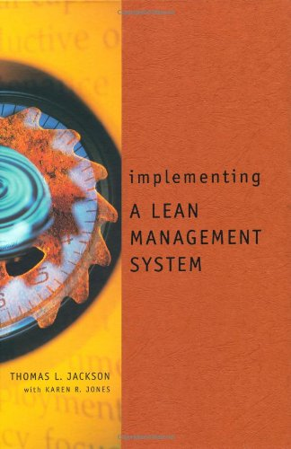 9781563270857: Implementing a Lean Management System (Corporate Leadership)