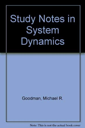 9781563271625: Study Notes in System Dynamics