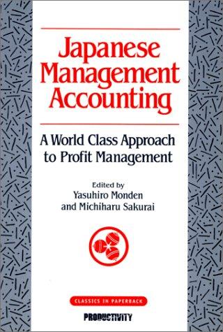 9781563271878: Japanese Management Accounting
