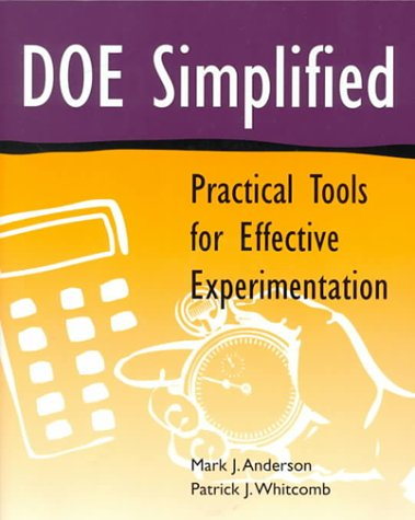9781563272257: DOE Simplified: Practical Tools for Effective Experimentation (Quality Management)