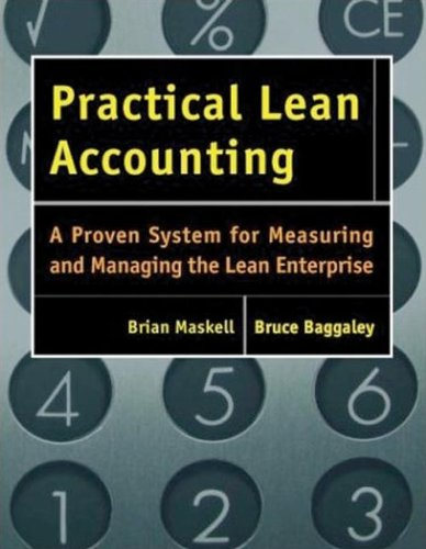 9781563272431: Practical Lean Accounting: A Proven System for Measuring and Managing the Lean Enterprise