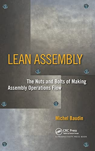 9781563272639: Lean Assembly: The Nuts and Bolts of Making Assembly Operations Flow