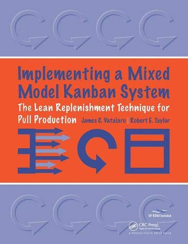 9781563272868: Implementing a Mixed Model Kanban System: The Lean Replenishment Technique for Pull Production