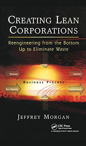 9781563273247: Creating Lean Corporations: Reengineering from the Bottom Up to Eliminate Waste