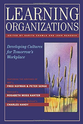 9781563273407: Learning Organizations: Developing Cultures for Tomorrow's Workplace