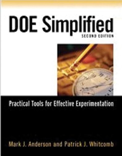 9781563273445: DOE Simplified: Practical Tools for Effective Experimentation, Second Edition