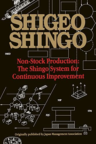 9781563273476: Non-Stock Production: The Shingo System of Continuous Improvement