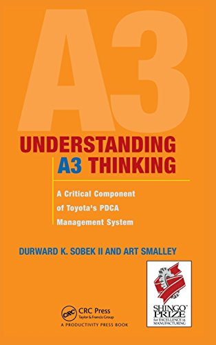 9781563273605: Understanding A3 Thinking: A Critical Component of Toyota's PDCA Management System