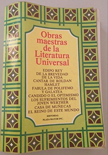 9781563280078: Obras Maestras De La Literatura Universal