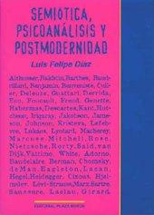 9781563280962: Semiótica, Psicoanálisis Y Postmodernidad (Textos Auxiliares)